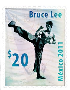 Bruce Lee Postage stamp by LanzCecilio on deviantART