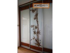 Motiv hnědý bambus