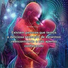 """⠀⠀⠀⠀⠀ ⠀⠀⠀ 🔅 Terra dos Budas ® on Instagram: """"""""Encontro de alma é quando você, ao conhecer alguém, diz: Muito prazer. Enquanto a sua alma sussurra: Que saudade (A. Desconhecido). Os…"""" Twin Souls, Special Words, Crazy Love, Secret Love, More Than Words, Osho, Beauty Quotes, Family Love, Reiki"""