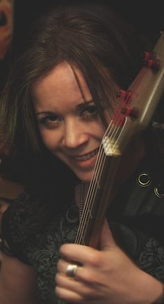 Carly the Bassist. Photo found in friend's collection.