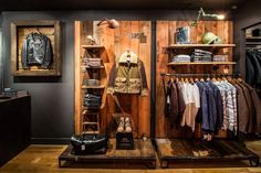 Schott NYC recently opened its first New York outerwear store in over sixty years. #jackets #coats