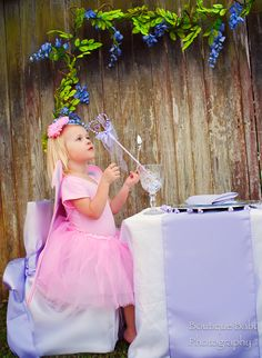 Pixie Party Kit for 8 complete with costumes and table settings.  http://www.hensandchicksparties.com