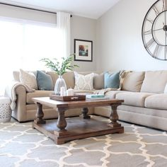 20 Beautifully Decorated Real Life Living Rooms - It's a Grandville Life