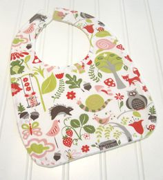 SWEET NATURALS/Organic Line/Baby Bib/Infant18 by SweetbugStudio, $12.50