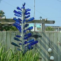 How could anyone not covet this bottle tree? Photo by Steve Bender