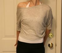 la vie DIY: DIY T-Shirt to Crop Refashion