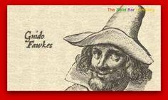 Guy Fawkes Night - 5th November - The Gunpowder Plot was to blow up English Parliament