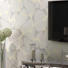 Geometric Wallpaper Modern for living room Non-woven wall paper roll wallpaper for walls 3d Wall mural papel de parede para sala(China)