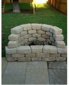 diy fire pit | Fire