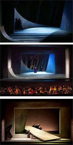 Tristan und Isolde. Welsh National Opera. Scenic design by Yannis Kokkos. 2006