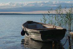 Озеро, Озеро Балатон, Воды, Природа, Пейзаж, Лодка