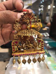 Jewellery Box Making few Jewellery Resizing Near Me long Antique Gold Jewelry Pics Kids Gold Jewellery, Indian Jewelry Earrings, Jewelry Design Earrings, Gold Jewellery Design, Temple Jewellery, Pendant Jewelry, Bridal Jewelry, Gold Jewelry, Handmade Jewellery