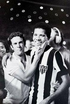 Telê Santana & Dadá Maravilha 1971 Campeão Brasileiro  Clube Atlético Mineiro