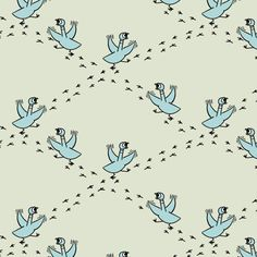 Frenzied :: Mo Willems' Don't Let the Pigeon Drive the Bus for Cloud9 Fabrics