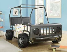 Jeeps Toddler Bed And Beds On Pinterest