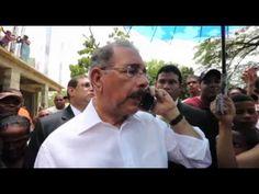 """Danilo Medina: """"Si el ingeniero no viene el lunes a trabajar, le quitamo..."""