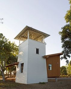 Lewis Butler, inspired by 19th/20th century water towers, and the work of William Wurster