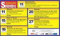 Agenda Cultural do ALTO TIETÊ: CONFIRA AGORA: Agenda SETEMBRO - Associação Cultur...
