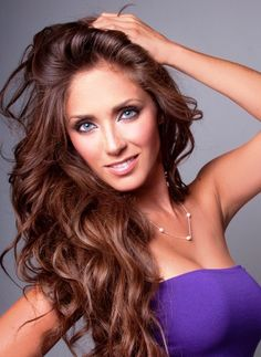 anahi giovanna puente portilla, my guess as to what Eve looked like Hair Color And Cut, Brown Hair Colors, Natural Hair Styles, Long Hair Styles, Dye My Hair, Gorgeous Eyes, Gorgeous Hair, About Hair, Fall Hair