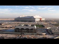 Al Bayt Stadium: The Progress So Far | Qatar 2022 استاد البيت: التقدم المحرز حتى الآن | قطر ٢٠٢٢ - YouTube Fifa World Cup, Opera House, Building, Travel, Buildings, Viajes, Destinations, Traveling, Trips