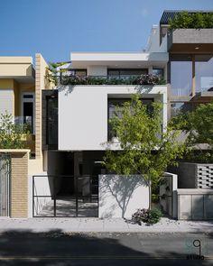 Bedroom Minimalist, Modern Minimalist House, Home Modern, Minimalist Architecture, Facade Architecture, Residential Architecture, Modern Japanese Architecture, Chinese Architecture, Futuristic Architecture