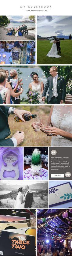 real_wedding_wanaka_photo_board