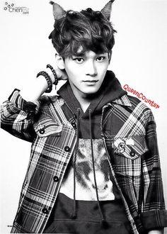 Exo kim jongdae chen catboy edit