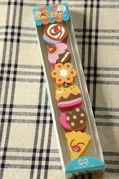 This is really cute eraser set.Perfect for gifts to your friends...or kids.- Weight: 110g (3.8 ounce…
