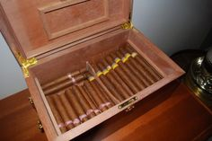 The office humidor. TFM.