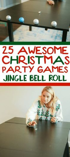 25 funny Christmas party games that are great for adults, for groups, for teens, and even for kids! 25 funny Christmas party games that Funny Christmas Party Games, Xmas Games, Adult Christmas Party, Christmas Games For Family, Holiday Party Games, Xmas Party, Christmas Humor, Christmas Holiday, Christmas Ideas