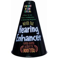 Over the Hill Hearing Enhancer Amscan http://www.amazon.com/dp/B001BQV7BI/ref=cm_sw_r_pi_dp_9gvZub0SEX7EA