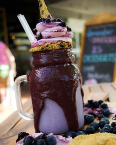 New FreakShake the Second! Freaky Blue Bâllz For the mad lover of the awesome…