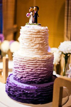 We always love a good ombre cake!