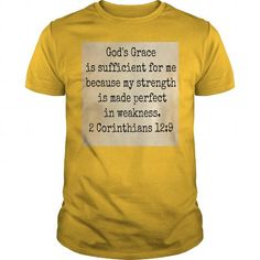 Awesome Tee God's Grace is Sufficient T shirts