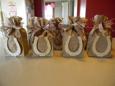 @Debbie Arruda Arruda Arruda Arruda Arruda Thomas - this reminded me of you. Cowgirl party favor bags