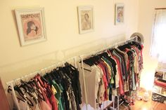 Dina's Days: Turning A Spare Room Into A Walk-In Closet