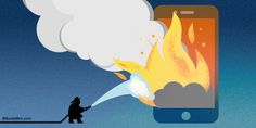 Hot Stuff! How NOT To Go Up In Flames During A Social Media Crisis - SocialBro