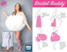 The only BFF you'll need to hold up your skirt on your wedding day! Bridal Buddy has got your back! Wedding Advice, Wedding Bride, Diy Wedding, Wedding Dresses, Budget Wedding, Wedding Planning, Bridal Undergarments, Wedding Accessories For Bride, Bridal Tips