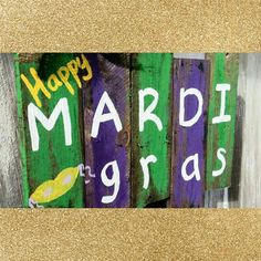 Mardi Gras celebration today at the store with King Cake and Huge Sales!!
