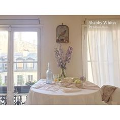 Shabby and Charming: In Paris, a beautiful apartment in pure Shabby Chic Style belonging to Adriana Anzola