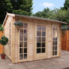 greenway 35m x 33m winterfold log cabin httpwwwsheds coukgreenway 3 5m x 3 3m winterfold log cabinhtml log cabins pinterest cabin