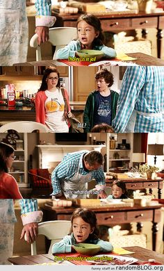 hahaha yes Lily is hilarious #modernfamily