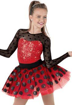Weissman™   Polka Dot Mesh Sequin Party Dress