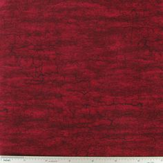 Burgundy Crackled Cotton Calico Fabric