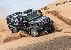 The New 980-Horsepower KAMAZ Dakar Rally Truck for 2017