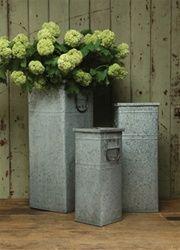 love galvanized tin.