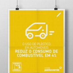 O preço da gasolina sobe e desce, mas há uma coisa que se mantém inalterada: utilizar plástico nos automóveis permite reduzir o consumo de combustível em cerca de 4%, devido ao seu peso ser inferior. Com a reciclagem, a poupança é certa.
