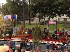Natural Balance Rose Parade float 2013