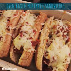OvenBakedMeatballSandwiches