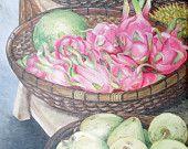 Dragon Fruit oil on canvas